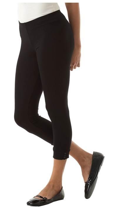 Leggings meia perna