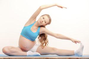 Alongamentos durante a gravidez