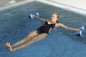 Exercícios aquáticos durante a gravidez