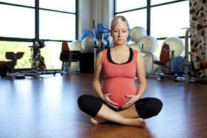 Ioga durante a gravidez