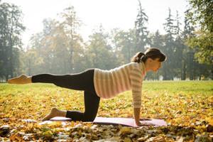 Pilates durante a gravidez